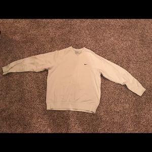 Like new Nike Ivory sweatshirt - Men's medium